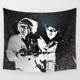 Roads? Where we're going, we don't need roads Wall Tapestry