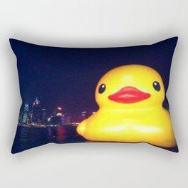 Super-sized Rubber Ducky Rectangular Pillow
