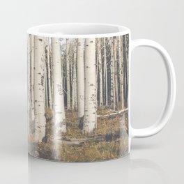 Trees of Reason - Birch Forest Coffee Mug