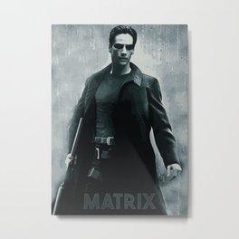 Matrix Metal Print