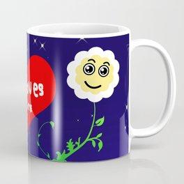 Smiling Daisies Coffee Mug