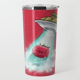 UFO. Italian Spaghetti Dreams Travel Mug