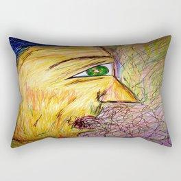 A Hawk in The Jar. Rectangular Pillow
