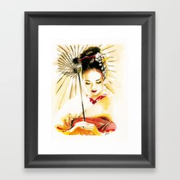 Memoirs of a Geisha Framed Art Print