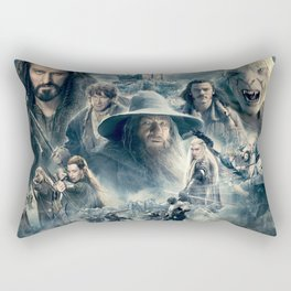 Battle is Coming Rectangular Pillow