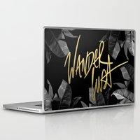 wanderlust Laptop & iPad Skins featuring Wanderlust by Tamsin Lucie