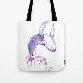 Dancing Whale Tote Bag
