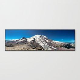 Mt. Rainier Panoramic Canvas Print
