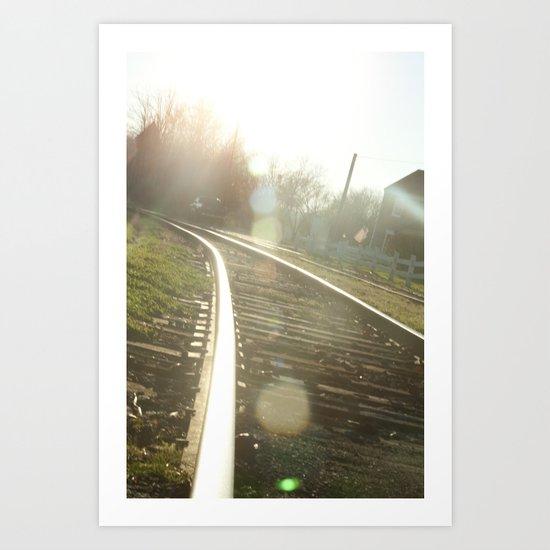 Into the Sun Art Print