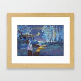 PURE HILL Framed Art Print