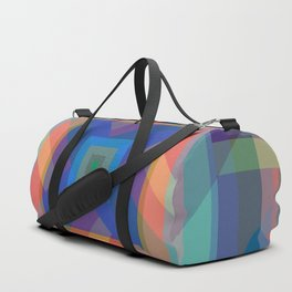 Cool Cold Winter Pattern Duffle Bag