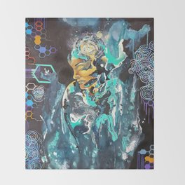 Beyond My Existence Throw Blanket
