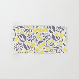 Yellow flowers field Hand & Bath Towel