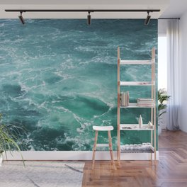 Sea Waves | Seascape Photography | Water | Ocean | Beach | Aerial Photography Wall Mural
