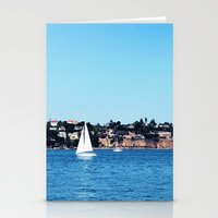 sail Stationery Cards featuring Sail by Elise Claire
