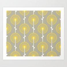 Yellow Lehua Art Print