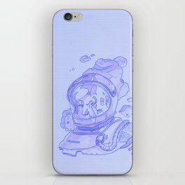 Astronaut in Motion iPhone Skin