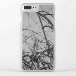 absent Clear iPhone Case