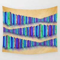 origami Wall Tapestries featuring Origami by DebS Digs Photo Art