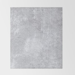 Abstract silver paper Throw Blanket