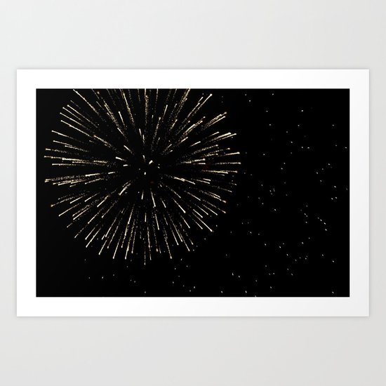 Beautiful Explosion Art Print