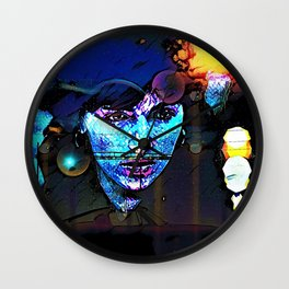 Stars and Boulevards Wall Clock
