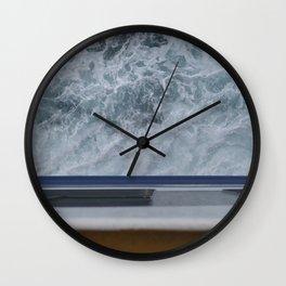 Naxosferry 1 Wall Clock