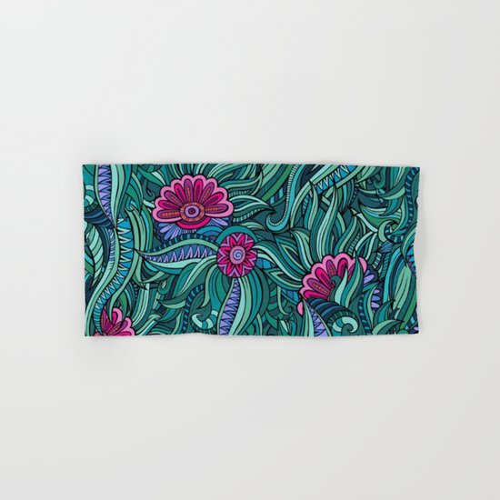 Shabby flowers #28 Hand & Bath Towel