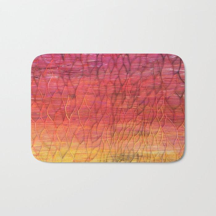 Desert Sunset Pattern Bath Mat