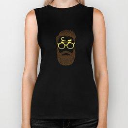 Hipster Biker Biker Tank