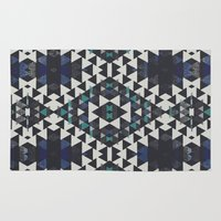 navajo Area & Throw Rugs featuring navajo n2 by spinL
