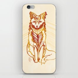Ethereal Fox iPhone Skin