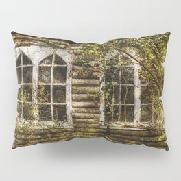 Overgrown Windows Pillow Sham