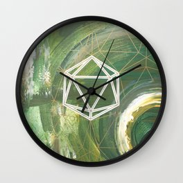 It's Only Water Wall Clock