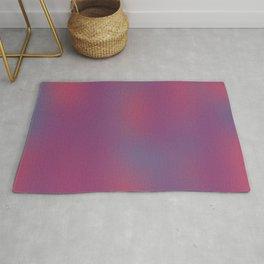 Deep Berry Purple Abstract Sunset Rug