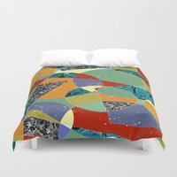 the 100 Duvet Covers featuring Abstract #100 by Ron Trickett