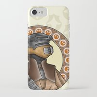 leia iPhone & iPod Cases featuring Leia by Miguel Angel Carroza