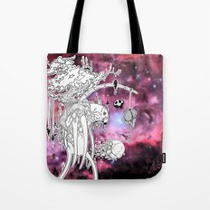 Walking Void Tote Bag