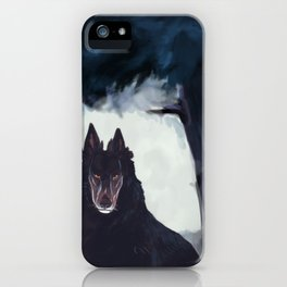 Hound iPhone Case