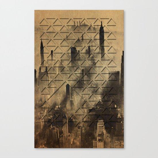 triangulating  Canvas Print