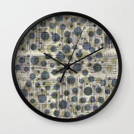 Soda Water Scribble Wall Clock