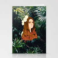 ultraviolence Stationery Cards featuring Lana Deadly Nightshade by Balans