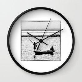 Indonesia, Seaweed Farmers in the Indian Ocean Wall Clock