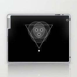 Mesh triangle geometry Laptop & iPad Skin