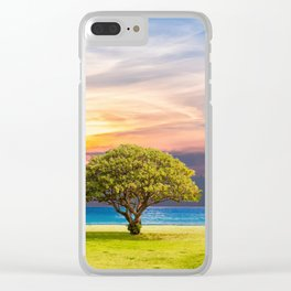 summer day Clear iPhone Case