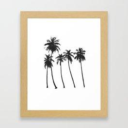 Five Palms Framed Art Print