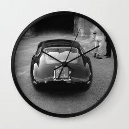 1957 4.5 Coupe, Modena, Italy Italian Sport Car Factory Photograph Wall Clock
