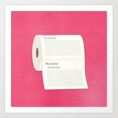 To-Do-Do List Art Print