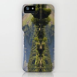 Stillness and clear reflections of Helm Crag at sunrise on Grasmere. Lake District, Cumbria, UK iPhone Case