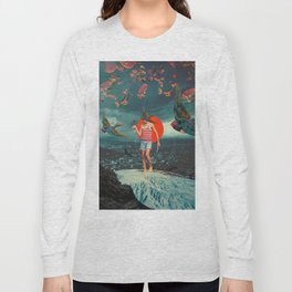 The Boy and the Birds Long Sleeve T-shirt